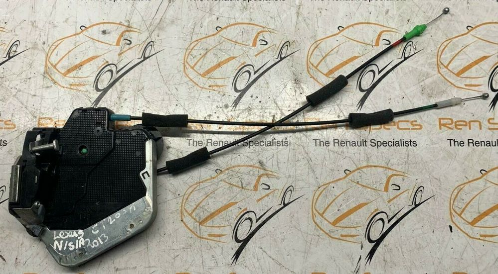 '13 LEXUS CT200H PASSENGER N/S/R PASSENGER SIDE REAR DOOR LOCK MECHANISM A046693